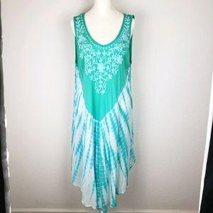Vintage Shoreline tye dye swimsuit cover up